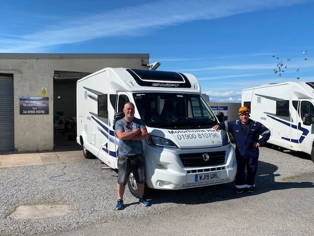motorhome hire , cumbria ,keyworkers, lake district , value ,competitive